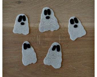 Five White Ghosts Felt Song