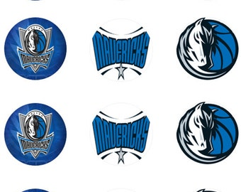 Dallas Mavericks Edible Images