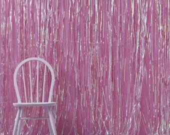 Iridescent Shimmer Curtain | Photobooth Backdrop | Unicorn Party