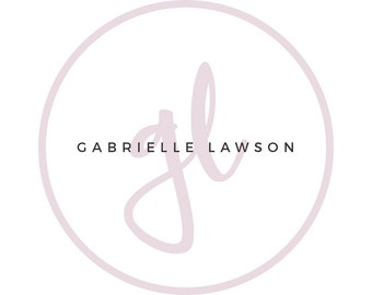 Premade Logo - Logo Design - Beauty Logo - Photographer Logo - Minimalistic Logo - Blogger - Logo - Business Logo - Branding Kit