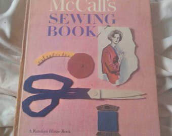 Vintage McCall's Sewing Book ( 1963 Hardcover )