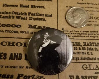 Nick Cave & Lydia Lunch pin
