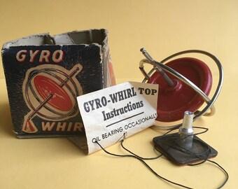 Langson Gyro Whirl Toy / Vintage 1950s
