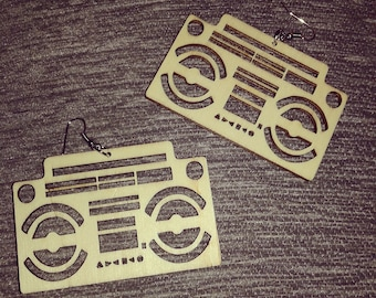 Boom Box Earrings