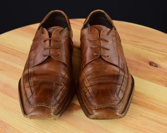 Classic Bacco Bucci Leather Oxford Dress Mens Shoes -Size 12M