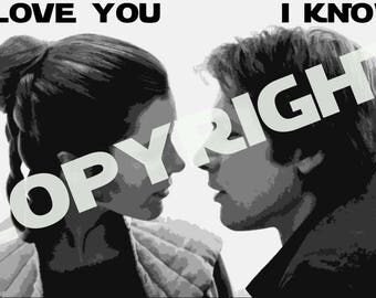 Star Wars I Love You I Know