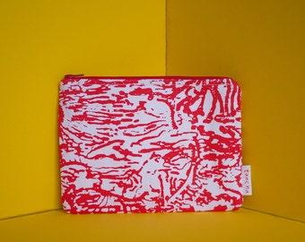 Case   Wholesale   Red   -hand printed unique