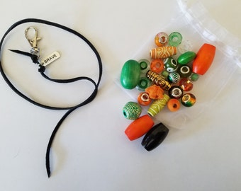 Example idea, Orange and Green, but all are custom made