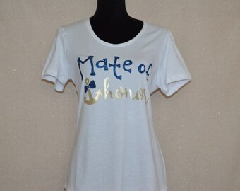 Nautical Bridal Shirt