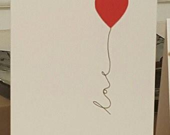 Love - Valentine's Card