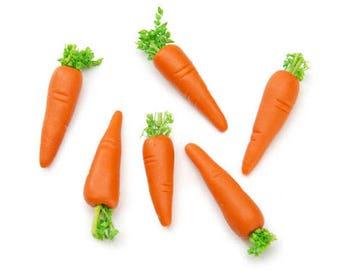 Miniature Carrots, 6 Pieces