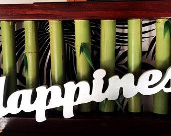 HAPPINESS 3D Wall Art