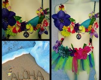 Aloha Rave Outfit