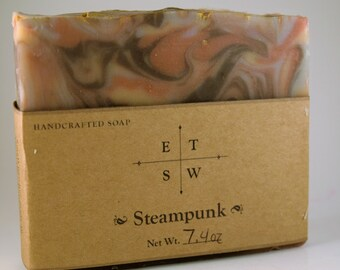 Steampunk Inspired Artisan Soap