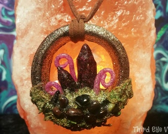 Twilight Woods Portal Necklace