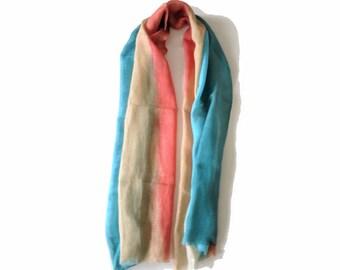 Light cotton summer scarf