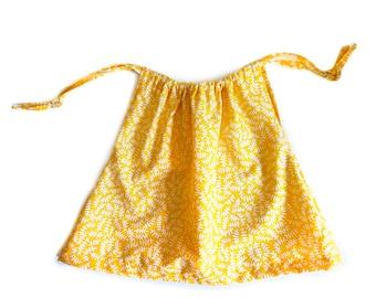 Organic Summer 'Sunshine' Dress. Toddler dress, baby dress, tie top dress
