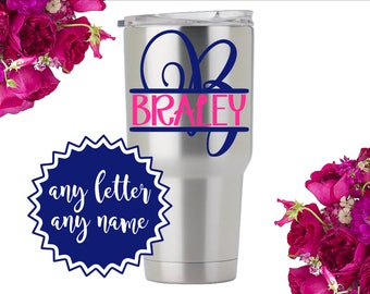 Tumbler Stickers Etsy - Vinyl stickers for cups