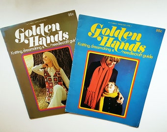 Pack of Two 'Golden Hands' Magazines Early 1971 Editions