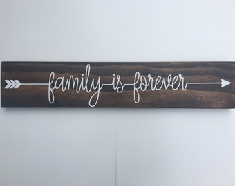 Family Is Forever Sign