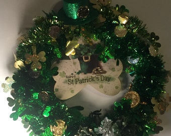 Happy St.Patrick's Day Wreath