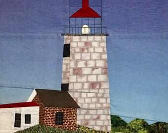 Monhegan Island, ME Lighthouse quilt pattern