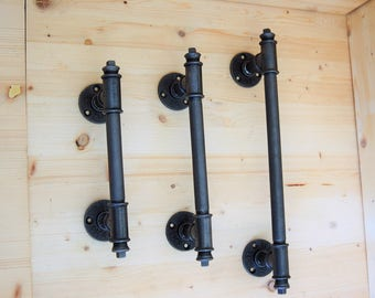 Handle - Model 2 - stick of Marshal is vertical or horizontal industrial style in plumbing pipes
