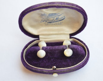 Antique Mother of Pearl Cufflinks