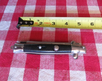 Vintage Switchblade Comb, Made in Hong Kong w/ free ship