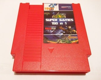 Super Games 150 in 1 Multicart Game Cartridge for Nintendo NES