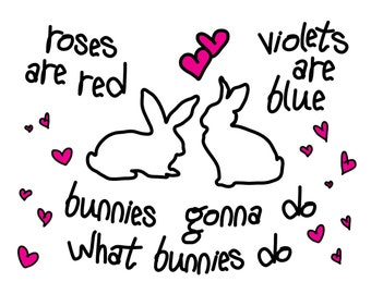 Bunnies Valentine