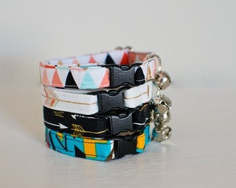 Cat Collar-Breakaway Cat Collar-Aztec Cat Collar-Tribal Cat Collar-Cat Collar With Bell-Girl Cat Collar-Arrow Cat Collar-Boy Cat Collar