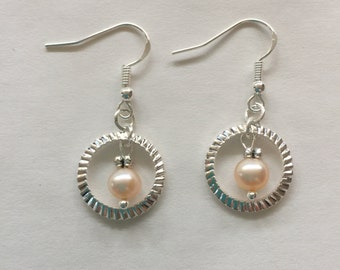 Dangle Earrings Pearl Earrings Hoop Earrings Drop Earrings FREE Shippping in US
