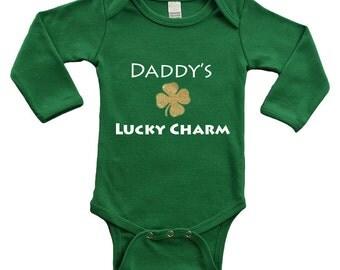 Long Sleeve Bodysuit - Daddy's Lucky Charm