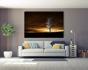 Long Exposure Landscape Fine Art Metal Print
