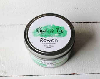 Rowan | Throne of Glass Inspired Soy Candle