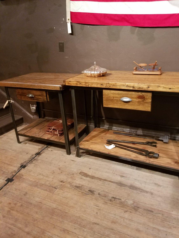 Butcher Block Kitchen Tables Butcher Block Table Etsy