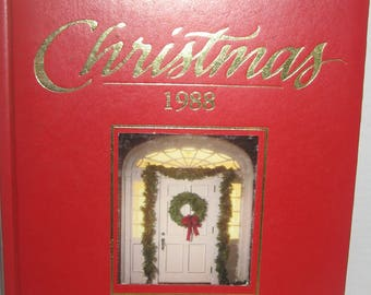 2 Vintage Better Homes & Gardens Christmas Books Cross Stitch and other hand made crafts. 2 hardcover books from 1988.