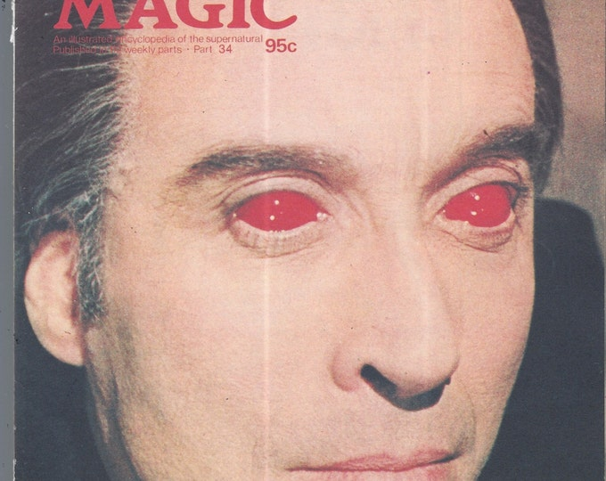 Man, Myth and Magic Part 34 Magazine by Richard Cavendish 1970