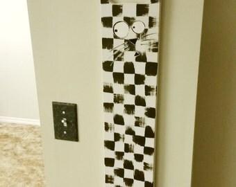 ChessCat Handmade Wooden Wall Decor
