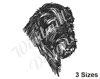 Irish Wolfhound - Machine Embroidery Design