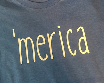 Tee 'america-READY TO SHIP