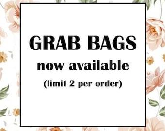 CLOSING SALE - 50% OFF - Grab Bags