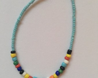 Colorful Seed Bead Bracelet