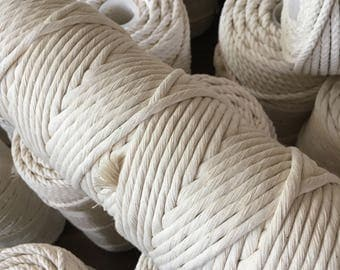 4 mm twisted rope