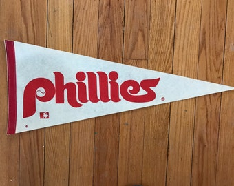 Vintage 1970s Philadelphia Phillies Pennant full size