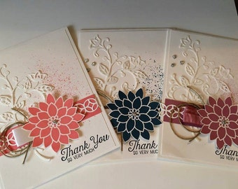 Hand made greeting card. Thank you