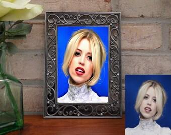 Custom Portrait - Photo to Portrait, Picture to Painting, Pic to art, oil painting, acrylic portrait, digital portrait