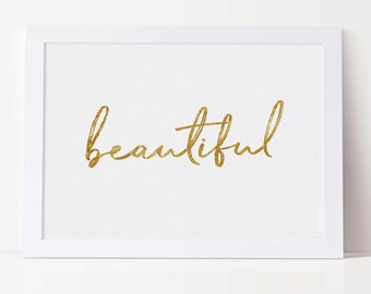 Beautiful Printable, DIGITAL FILE DOWNLOAD
