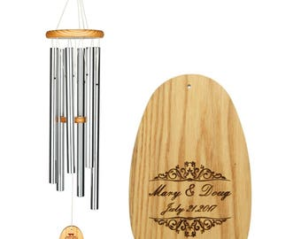 Personalized Yoga Wind Chime